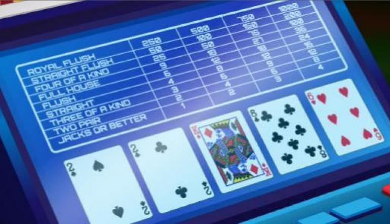 video poker low pair